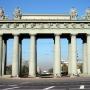 - м. Московские ворота - Московские Триумфальные ворота