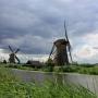 Голландские вентиляторы. Ветряные мельницы Киндердейка.
