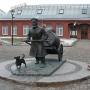 - Шпалерная ул., 56 - Памятник Петербургскому водовозу